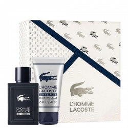 Lacoste L'homme Intense sæt EDT 50 ml og After Shave Balm 75 ml