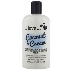 I Love ... Coconut & Cream Bath & Shower Créme 500 ml