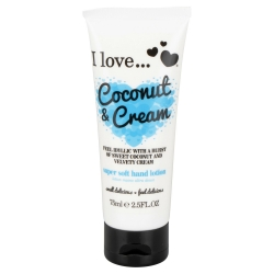 I Love ... Coconut & Cream Hand Lotion 75 ml