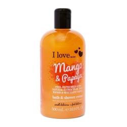 I Love ... Mango & Papaya Bath & Shower Créme 500 ml