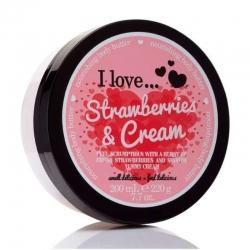 I Love ... Strawberries & Cream Body Butter 200 ml