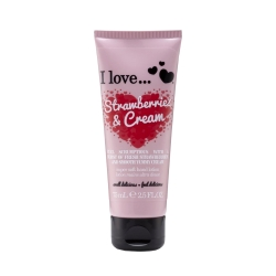 I Love ... Strawberries & Cream Hand Lotion 75 ml