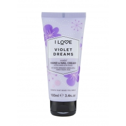 I Love ... Violet Dreams Hand & Nail Cream 100 ml