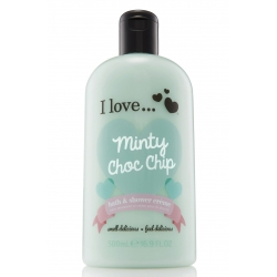 I Love ... Minty Choc Chip Bath & Shower Cream 500 ml