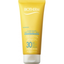 Biotherm Fluide Solaire Wet or Dry Skin SPF 30 Solcreme 200 ml